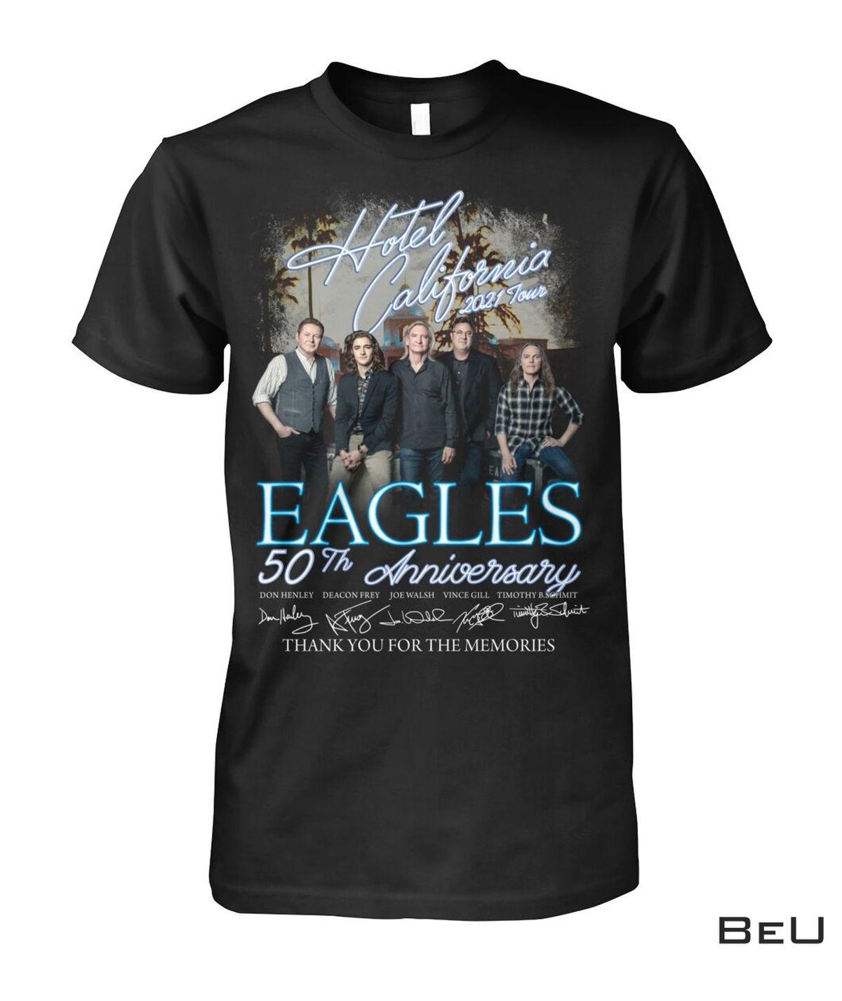 Free Ship Hotel California 2021 Tour Eagles 50th Anniversary Shirt, hoodie, tank top