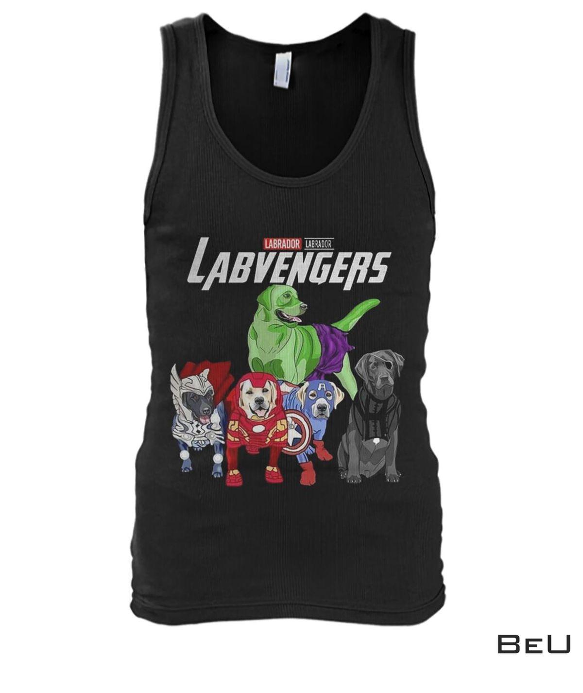 Labrador Labvengers Avengers Shirtx