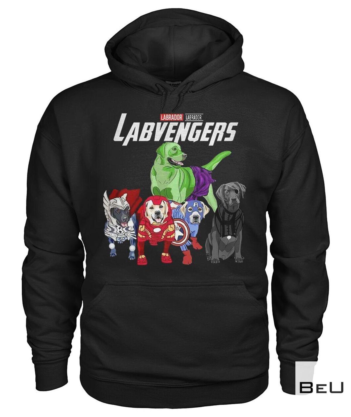 Labrador Labvengers Avengers Shirtz
