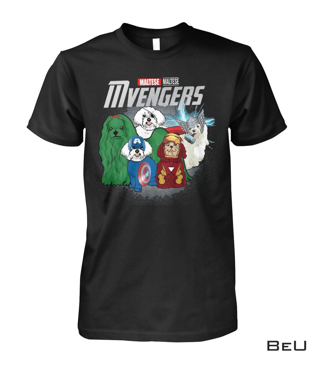Maltese Mvengers Avengers Shirt