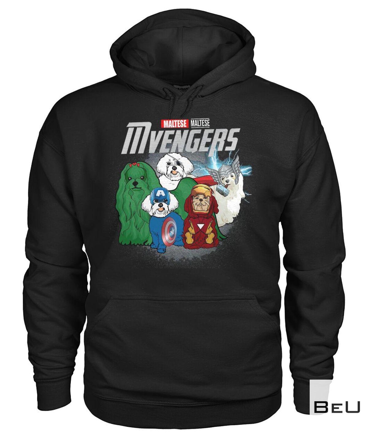 Maltese Mvengers Avengers Shirtz