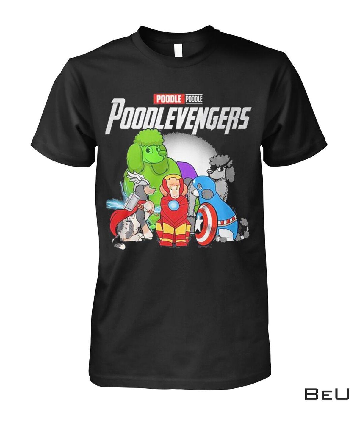 Poodle Poodlevengers Avengers Shirt
