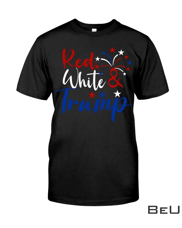 Red White Trump Shirt