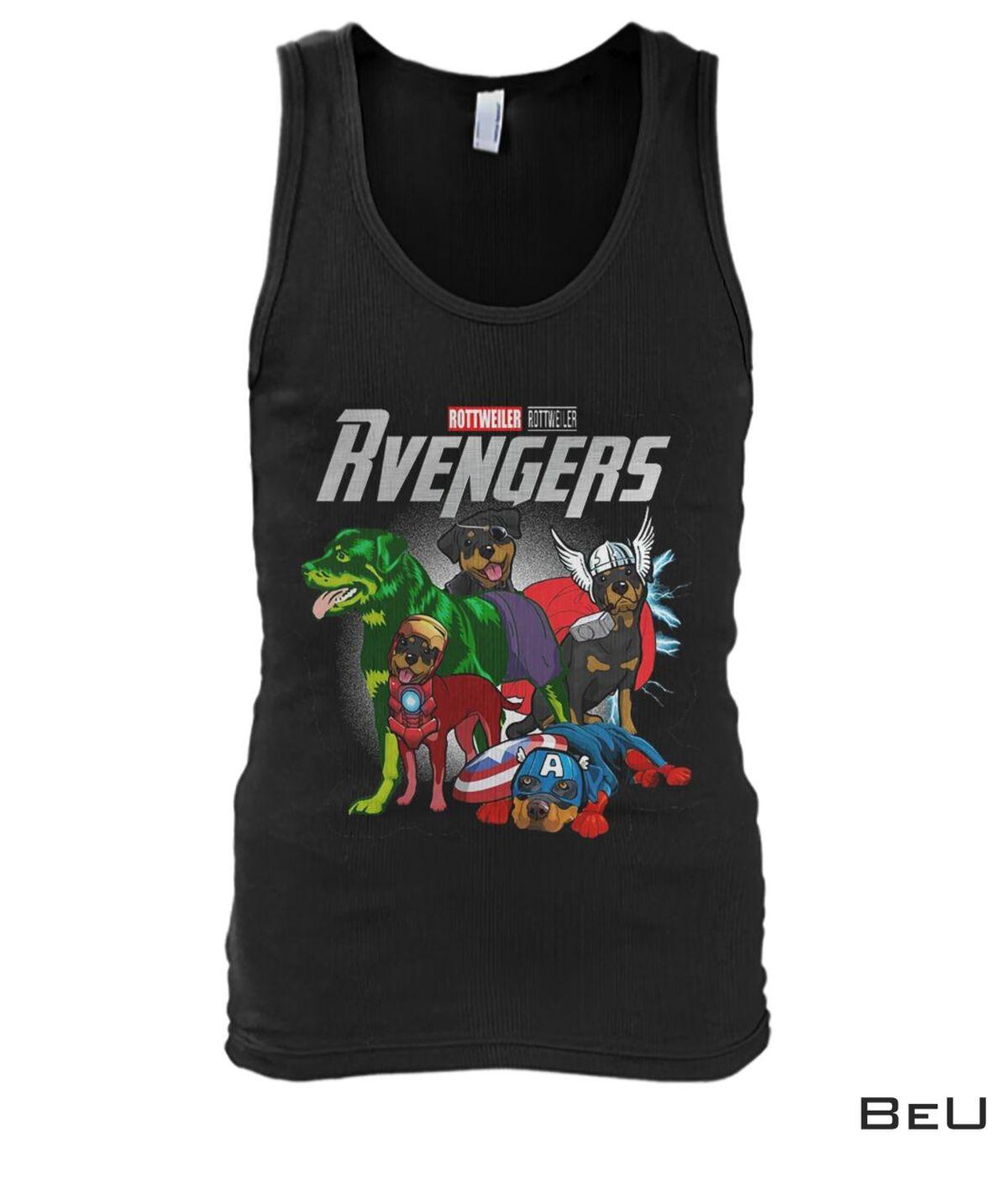 Rottweiler Rvengers Avengers Shirtx