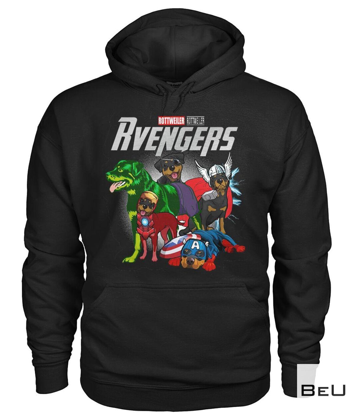 Rottweiler Rvengers Avengers Shirtz