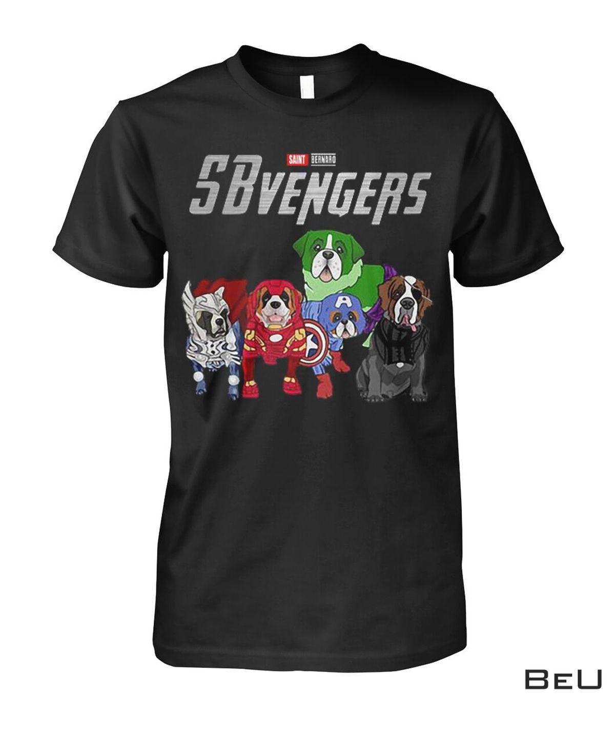 Saint Bernards SBvengers Avengers Shirt