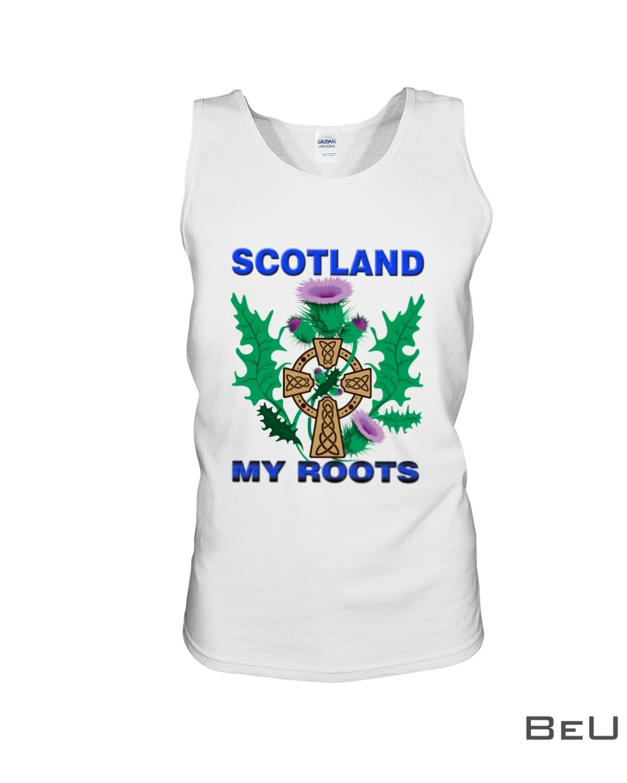 Scotland My Roots Shirtx