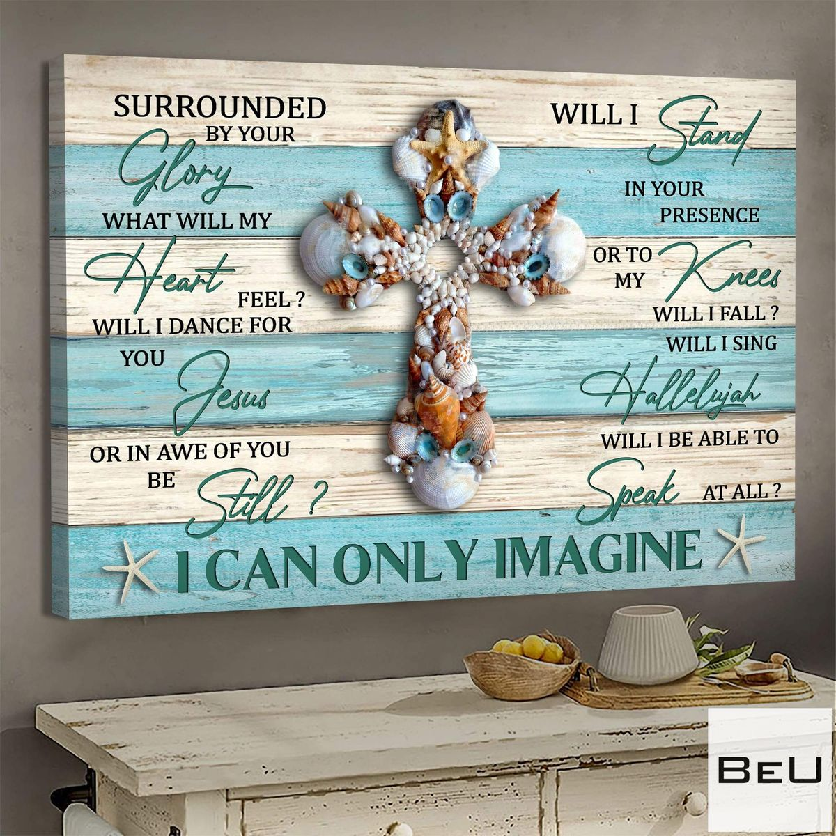 Seashell-Cross-I-can-only-Imagine-Jesus-Canvas