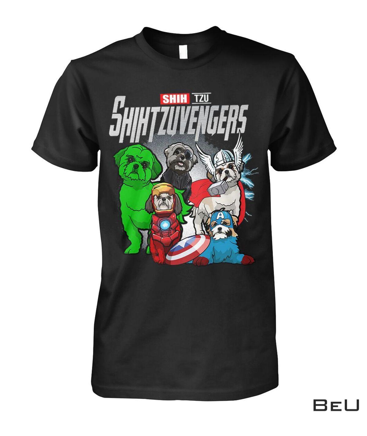 Shih Tzu ShihTzuvengers Avengers Shirt