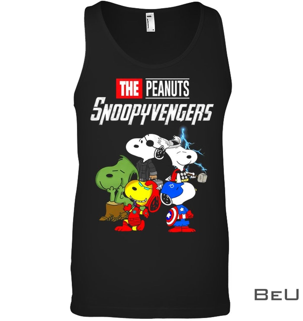 Snoopy Avengers The Peanuts Movie Shirtc
