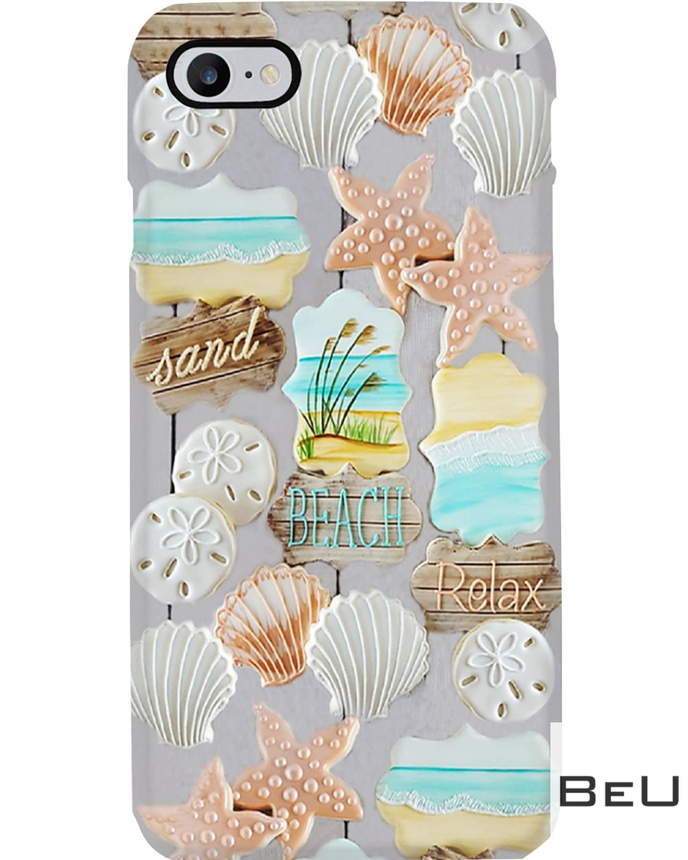 Summer Beach With Starfish Phone Case