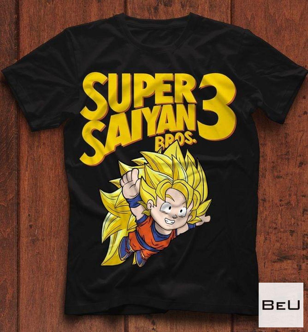 Super Saiyan Bros 3 Shirt