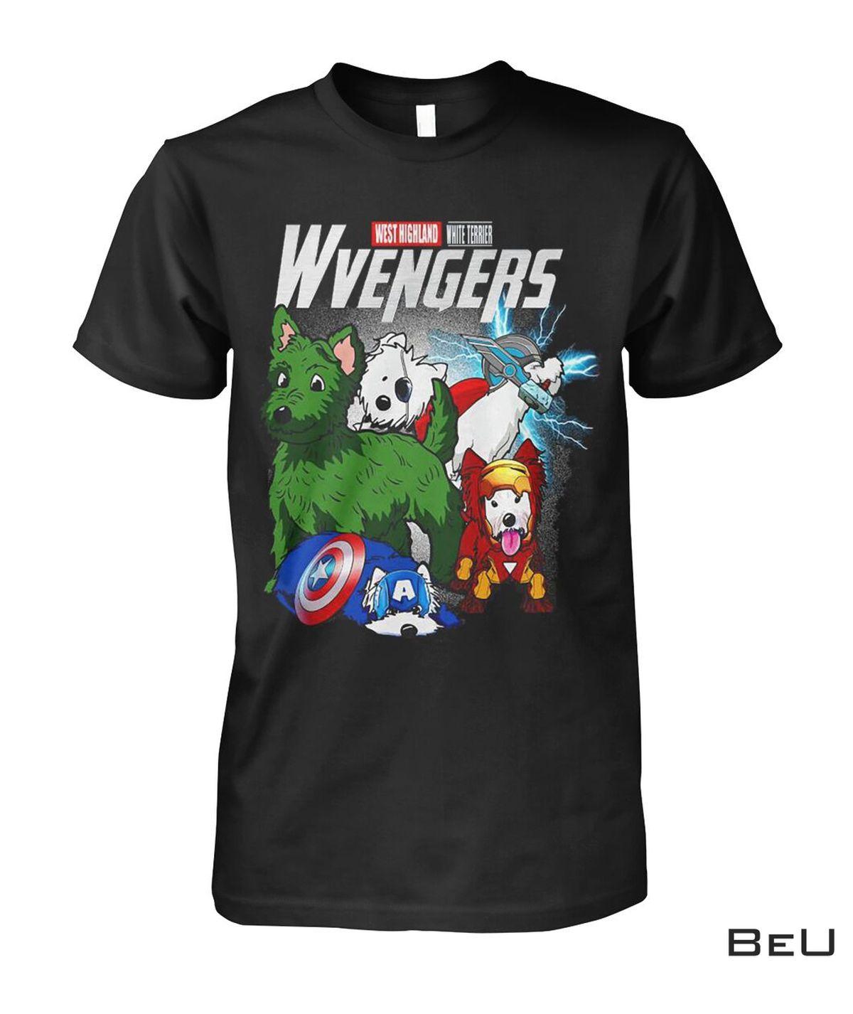 Westie Terrier Wvengers Avengers Shirt