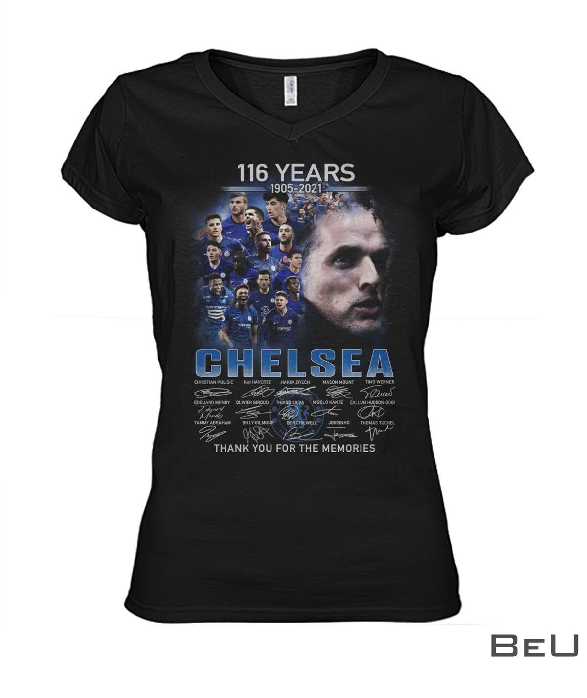116 Years 1905-2021 Chelsea Shirtx
