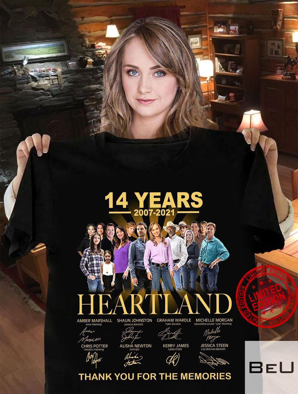 14 Years 2007-2021 Heartland Thank You For The Memories Shirt