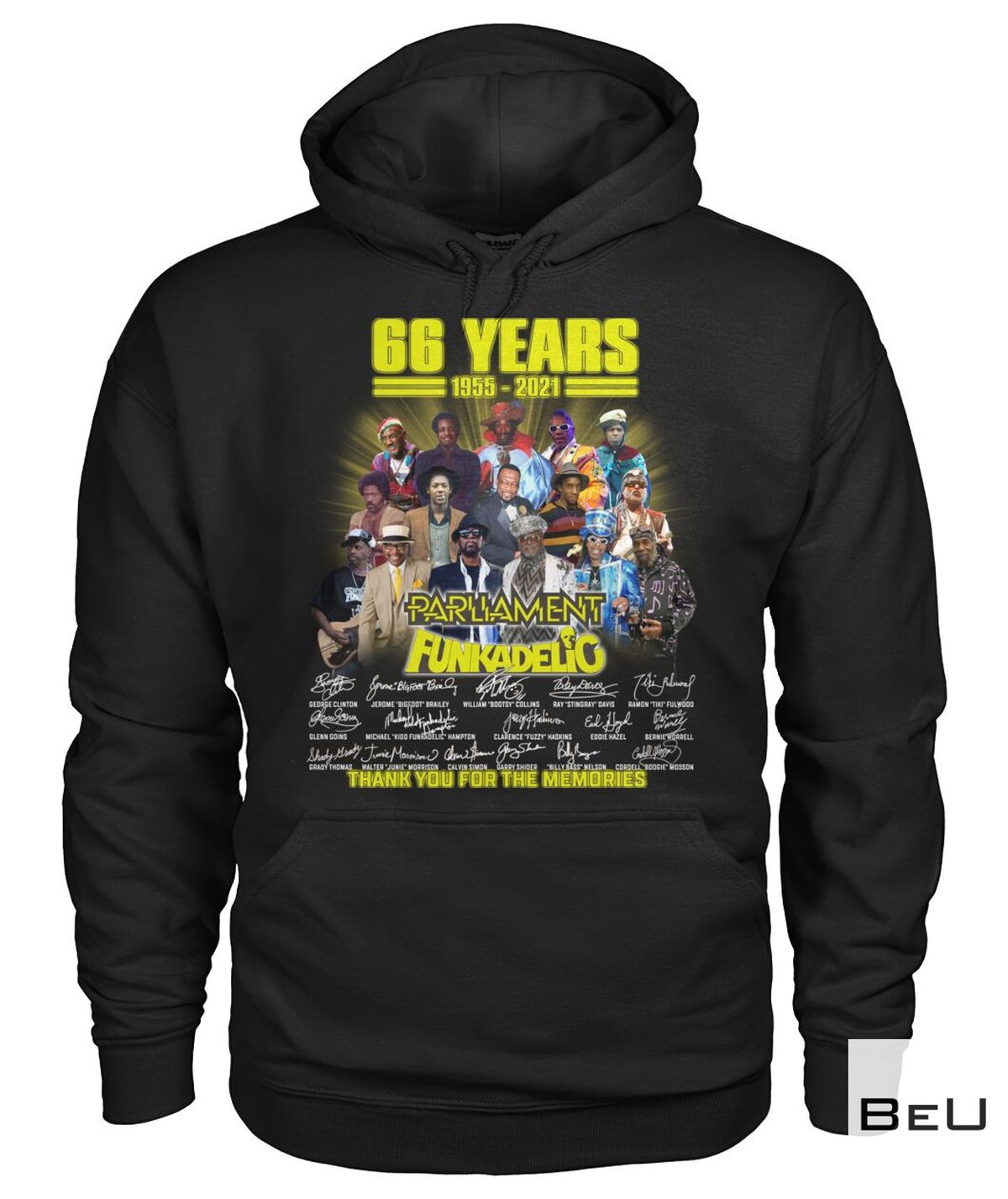 Excellent 66 Years Parliament Funkadelic Thank You Shirt, hoodie, tank top