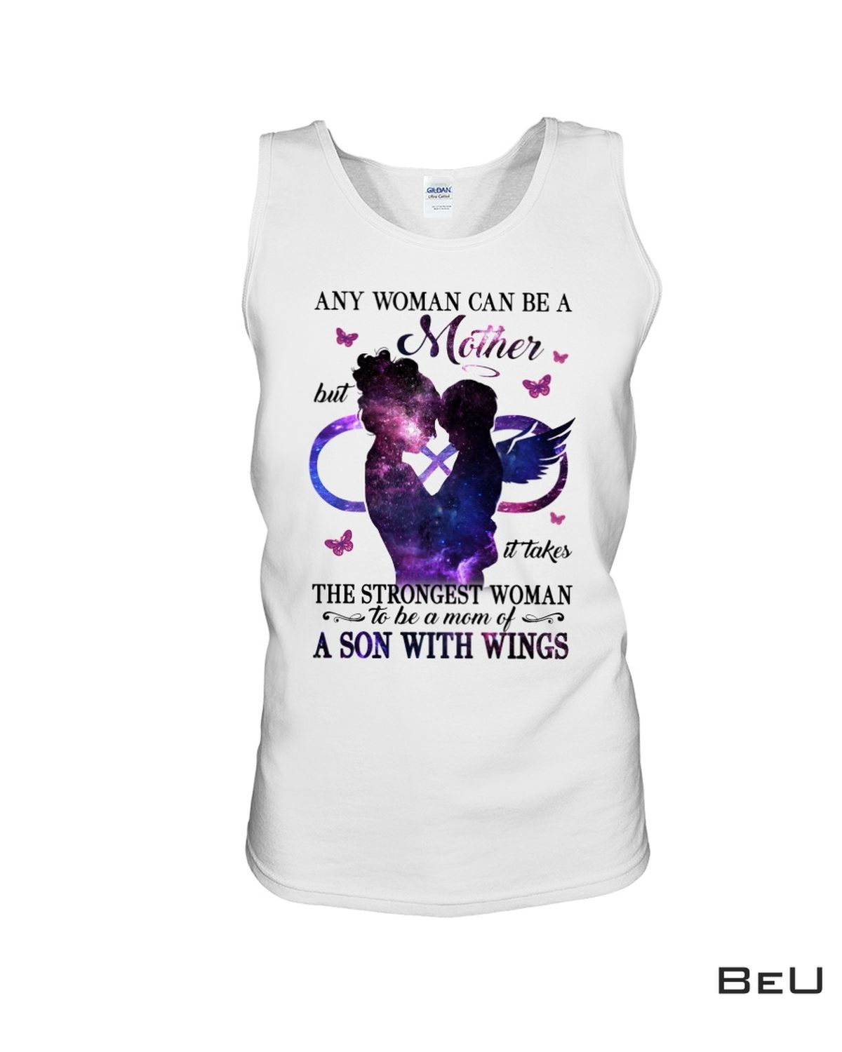 Best Any Woman Can Be A Mother But It Takes A Strongest Woman To Be A Mom Of A Son With Wings Shirt, hoodie, tank top