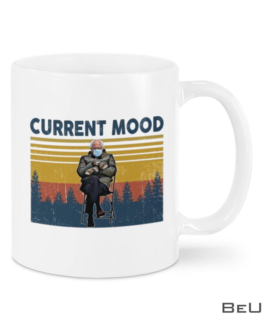 Bernie Sanders Current Mood Vintage Mug
