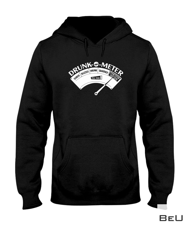 Real Boating Pontoon Drunk O Meter Shirt, hoodie, tank top