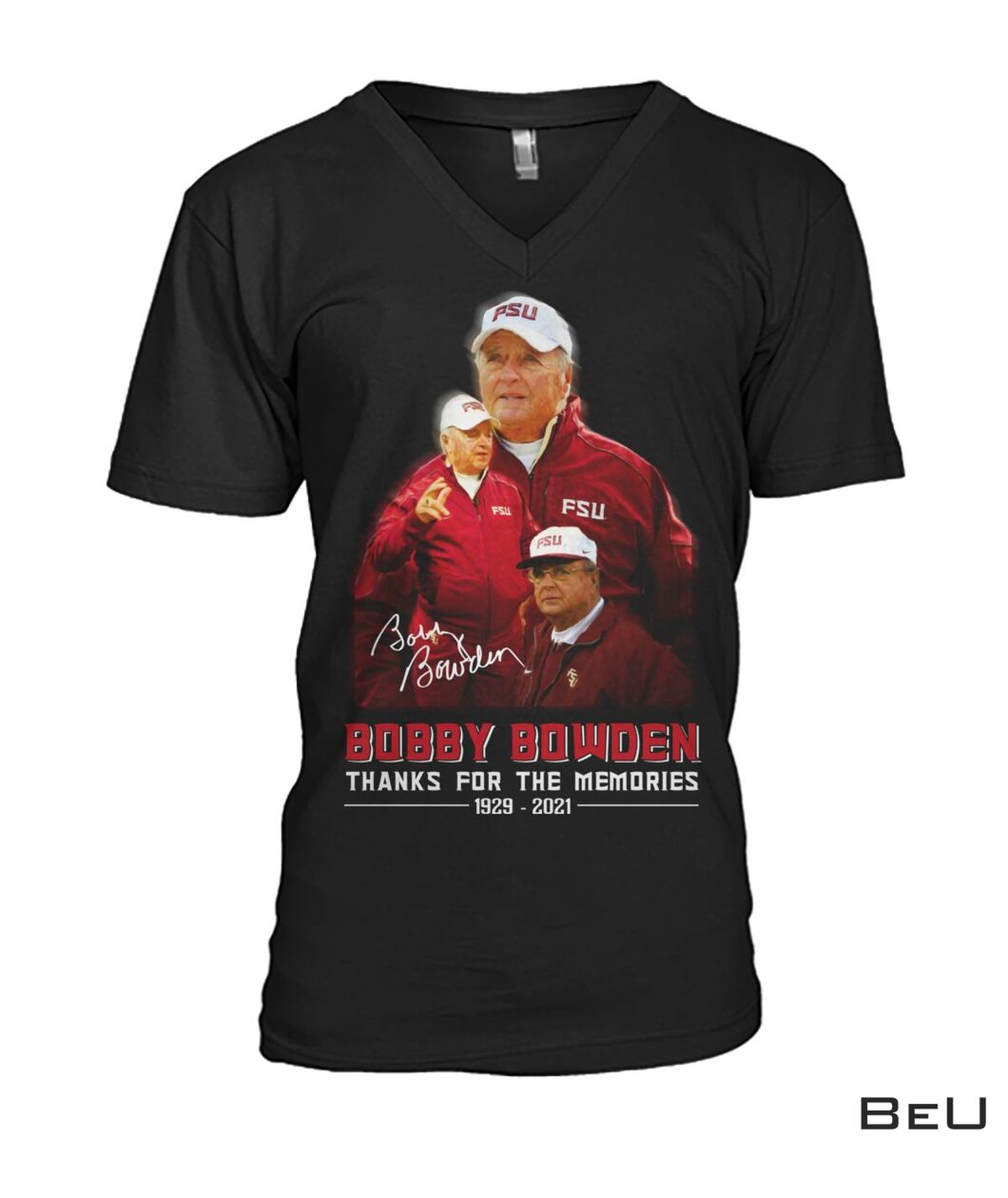 Gorgeous Bobby Bowden Thanks For The Memories Shirt