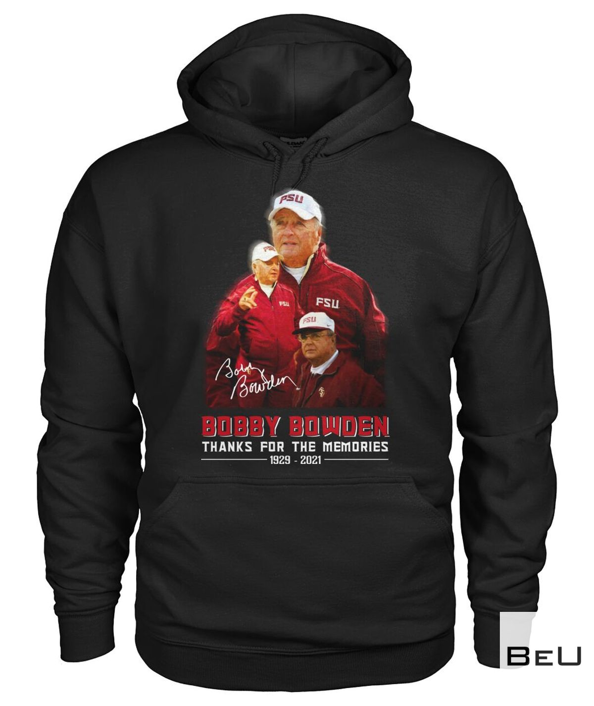 Father's Day Gift Bobby Bowden Thanks For The Memories Shirt