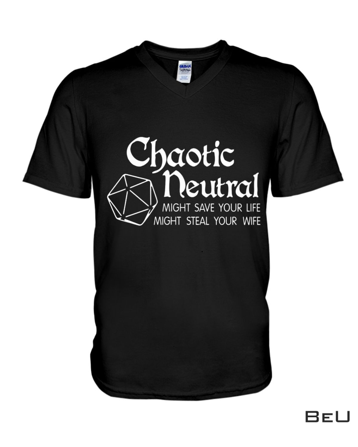 Clothing Chaotic Neutral Might Save Your Light Might Steal Your Wife Shirt, hoodie, tank top