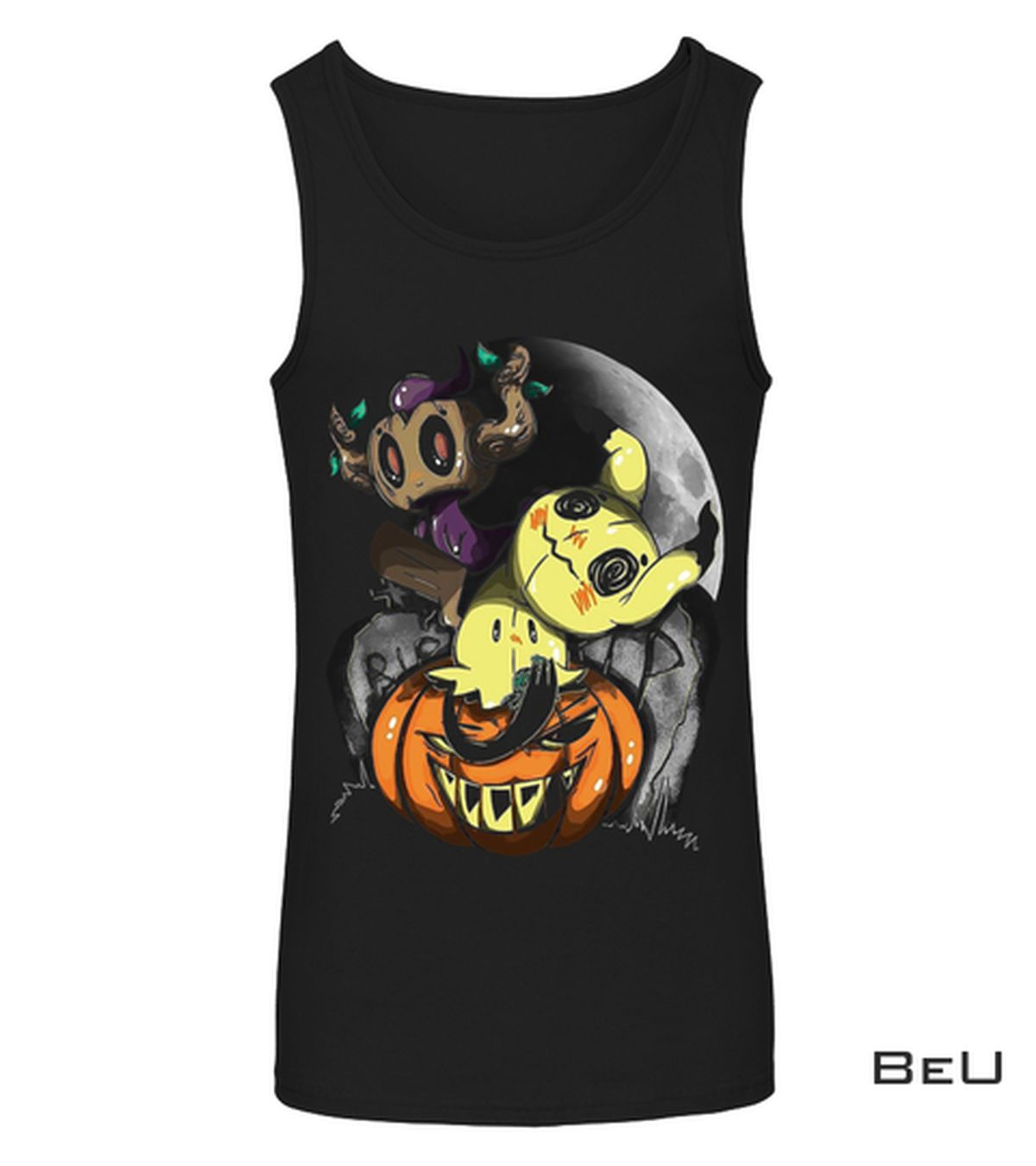 eBay Creepy Pikachu Pumpkin Halloween Shirt, hoodie, tank top