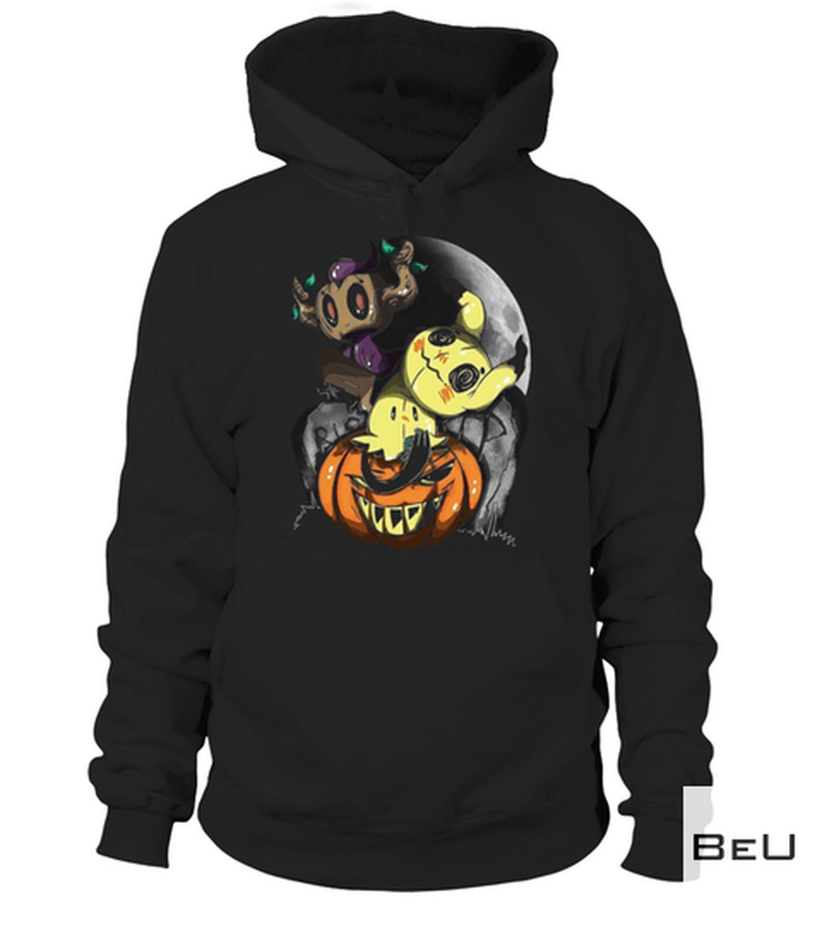 US Shop Creepy Pikachu Pumpkin Halloween Shirt, hoodie, tank top