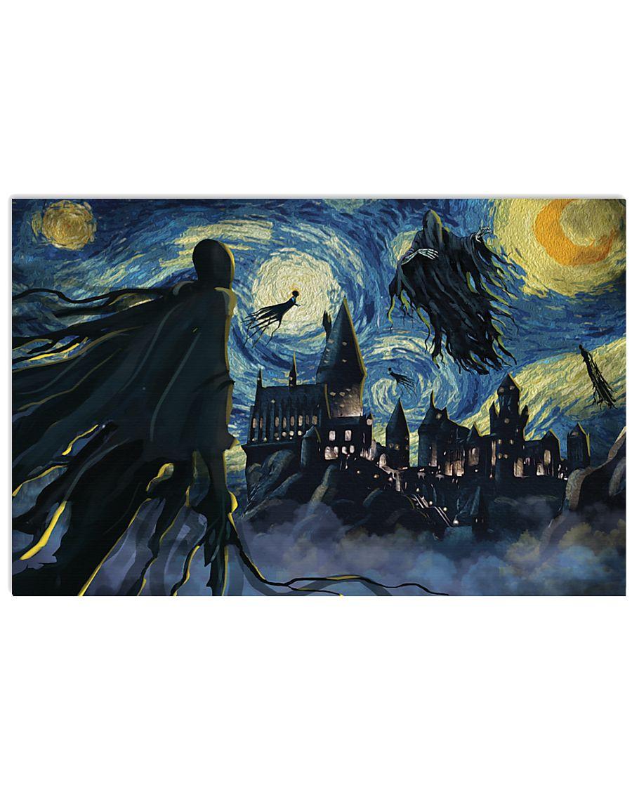Dementors of Azkaban Starry Night Poster