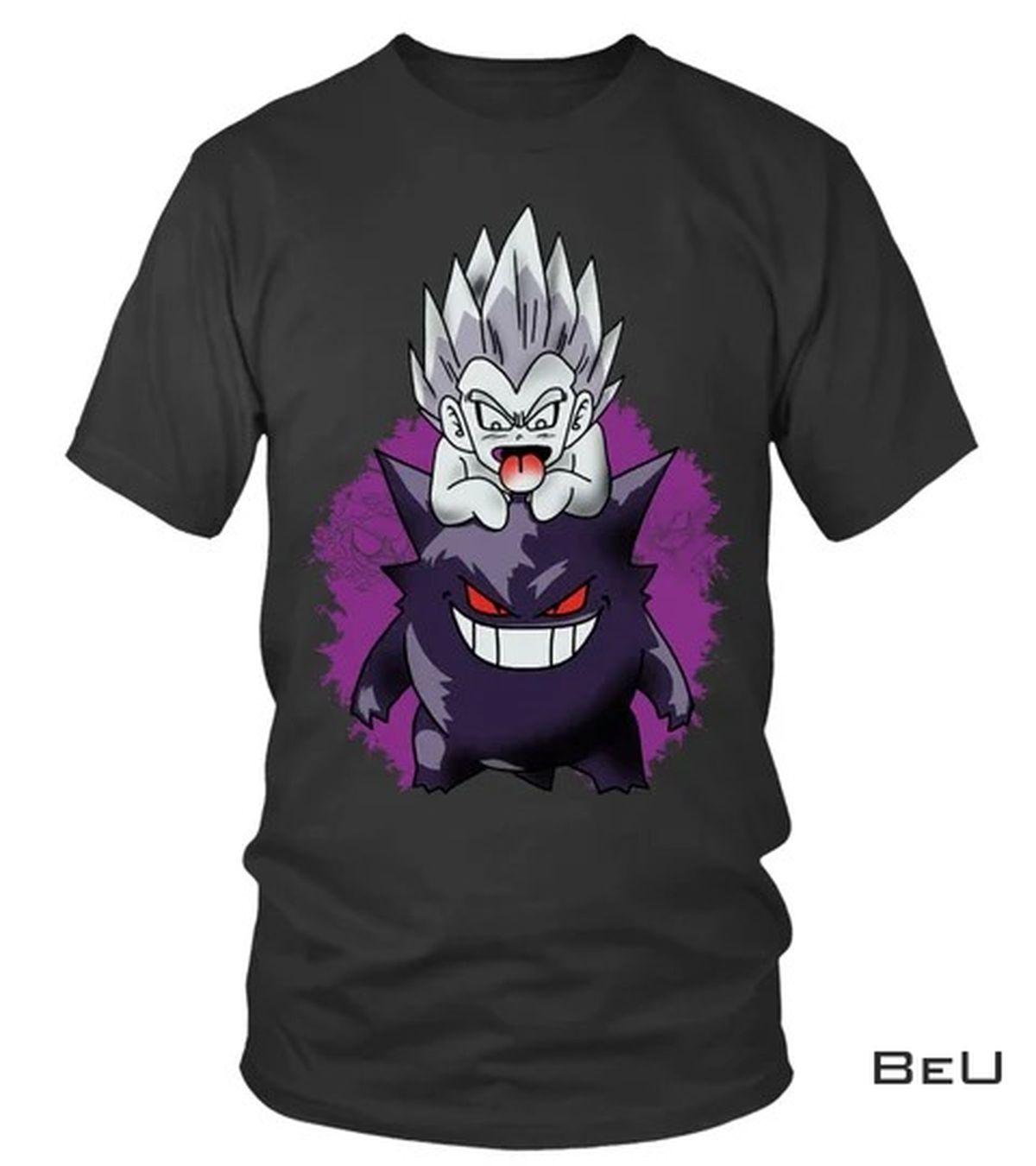 Rating Dragon Ball Gengar Shirt, hoodie, tank top