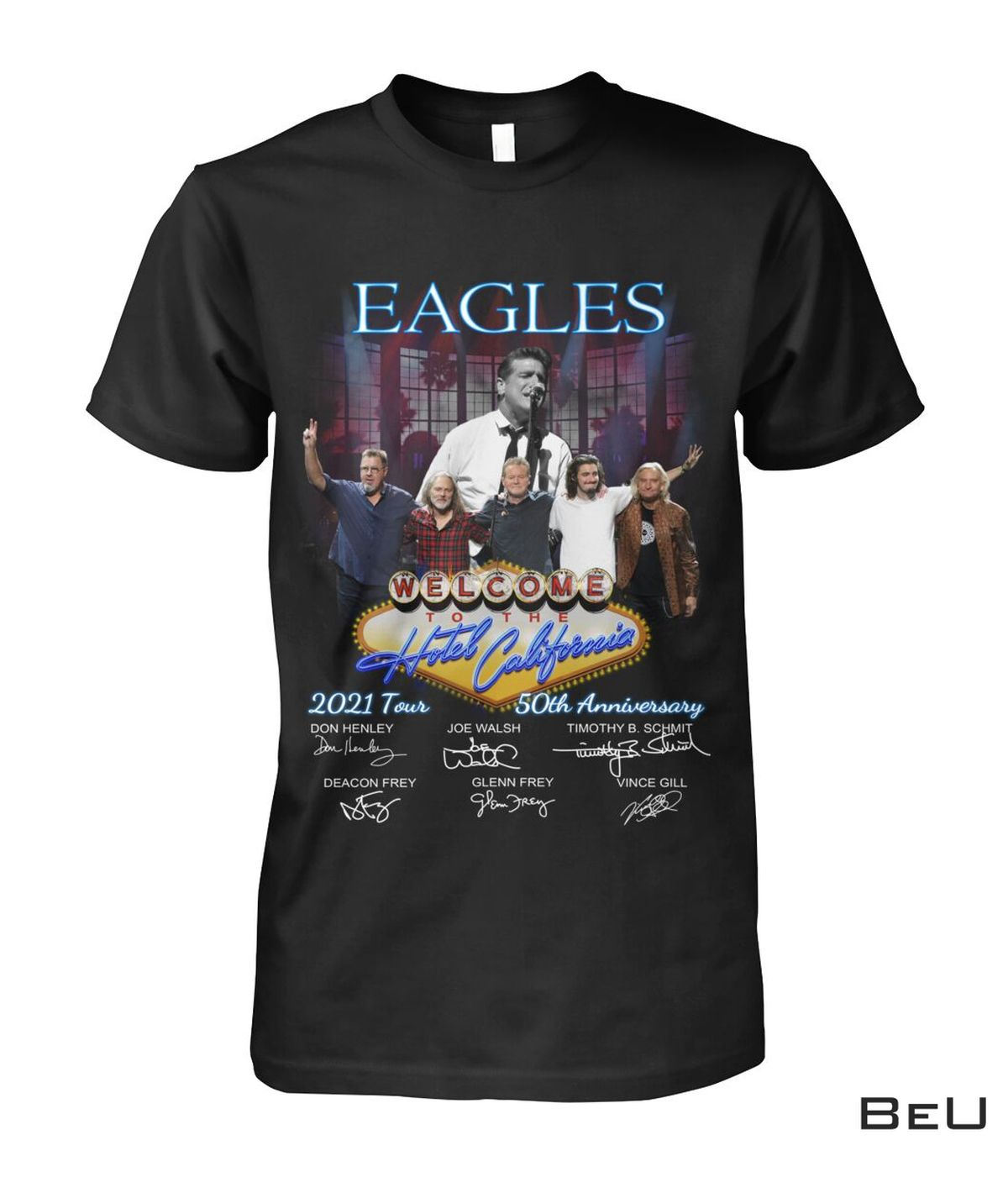 Hot Eagles Welcome To The Hotel California 2021 50th Anniversary Shirt, hoodie, tank top