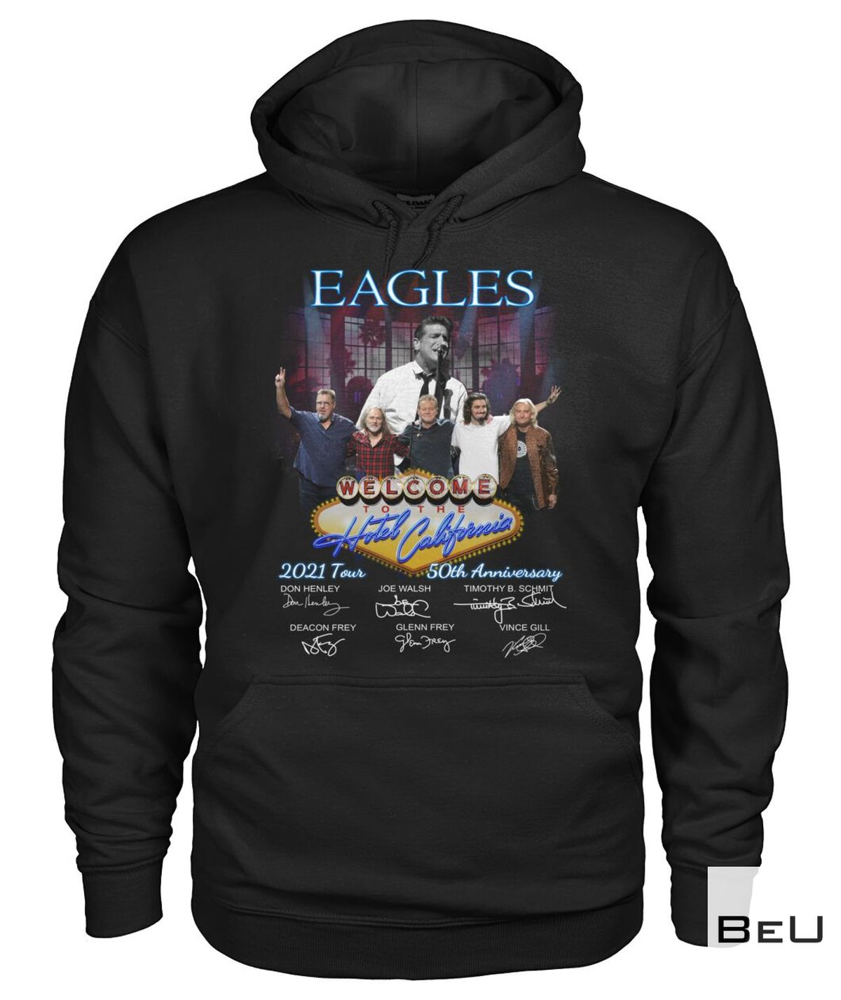 Where To Buy Eagles Welcome To The Hotel California 2021 50th Anniversary Shirt, hoodie, tank top