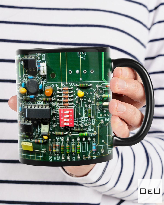 Drop Shipping Electrician Board Green Mugs