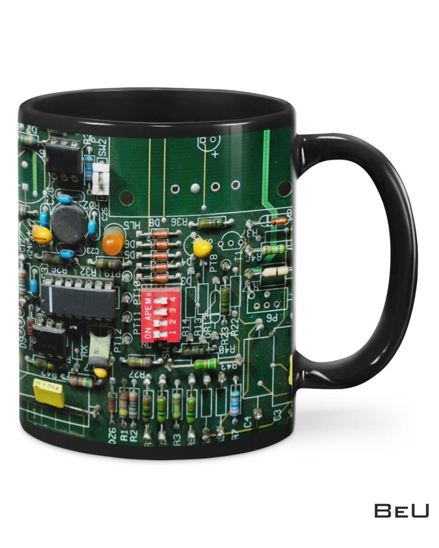 Hot Electrician Board Green Mugs