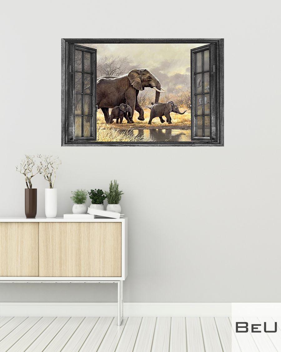 Elephant Elephant Family Poster2Family Poster2