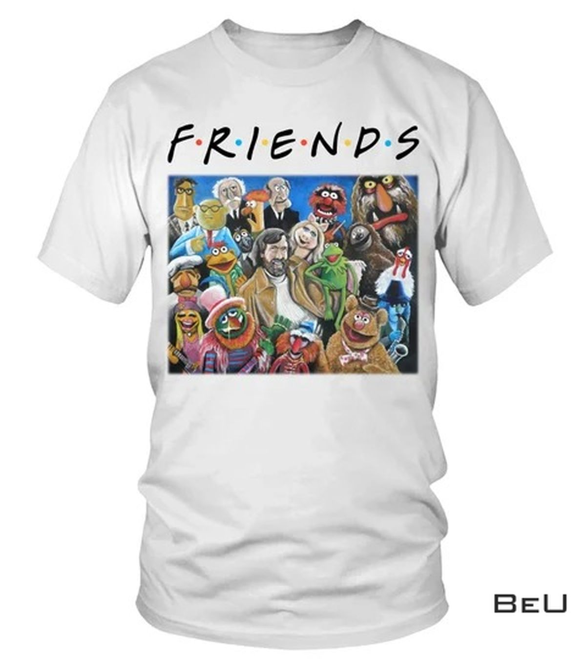 Sale Off Friends Jim Henson Puppets Art Shirt, tank top