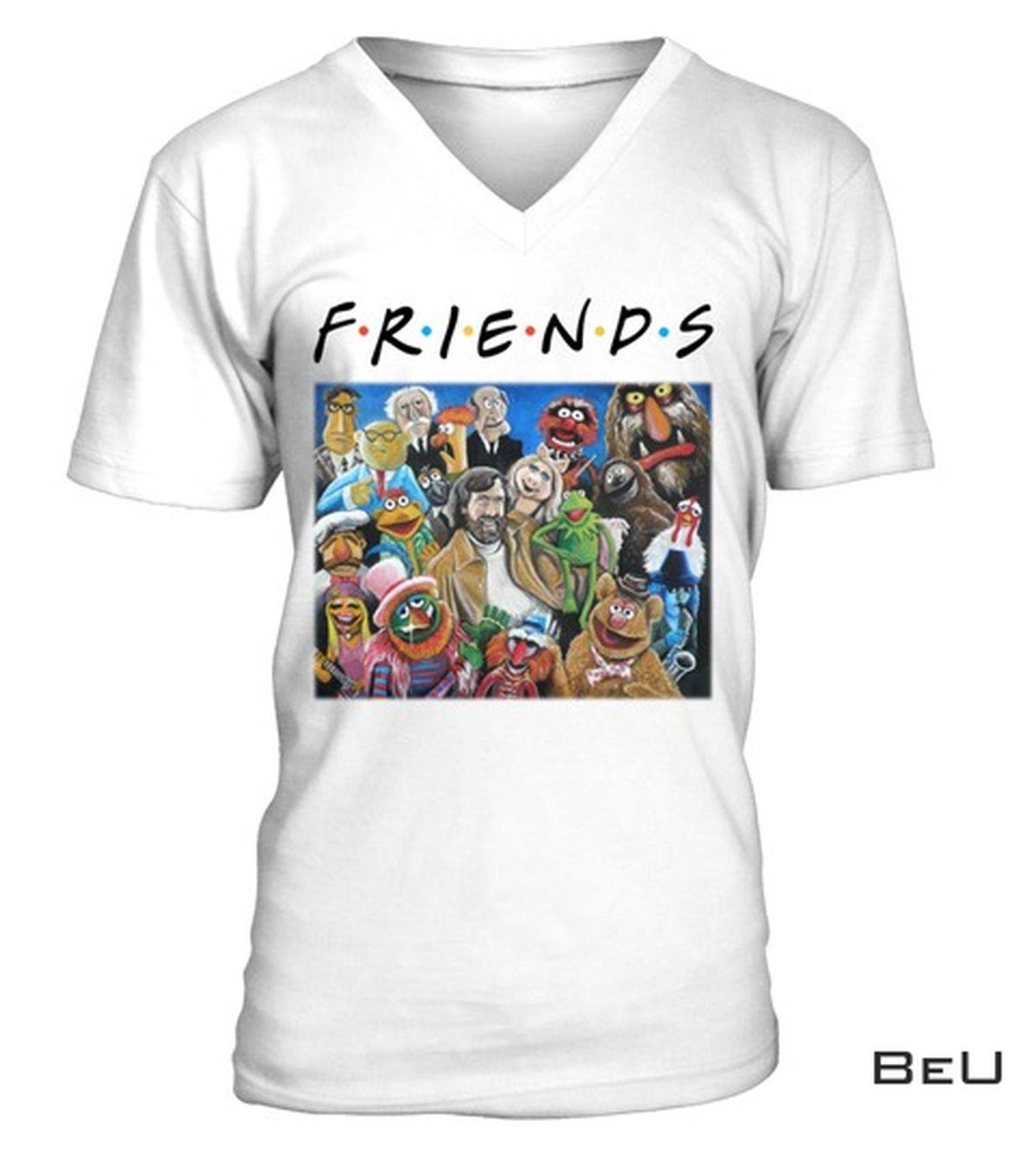 Unisex Friends Jim Henson Puppets Art Shirt, tank top