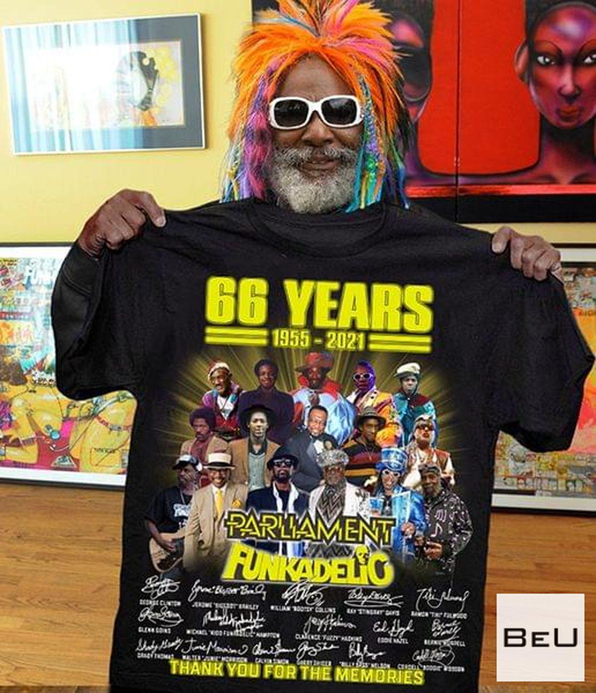 66 Years Parliament Funkadelic Thank You Shirt, hoodie, tank top