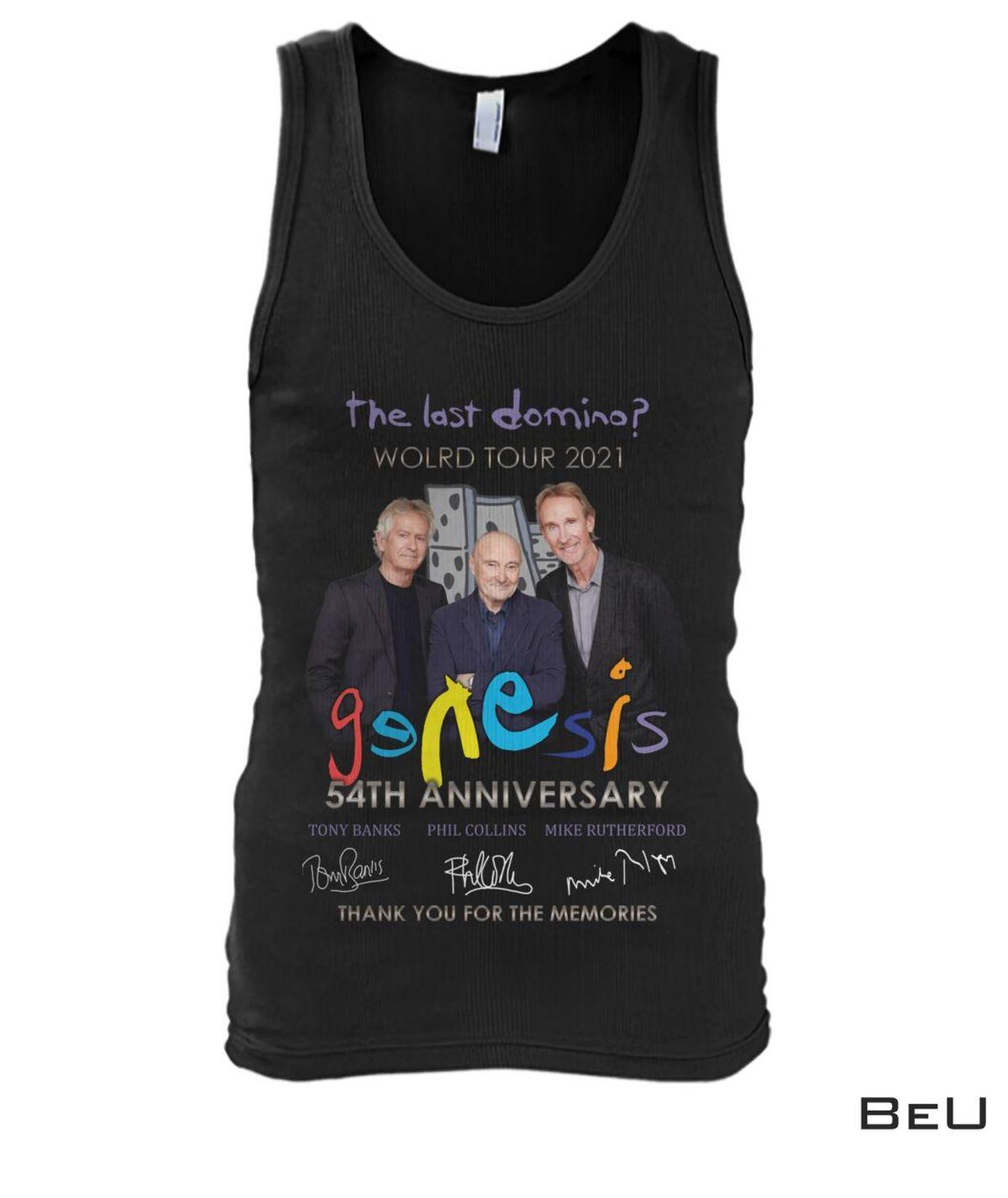 Genesis The Last World Tour 2021 Shirt c