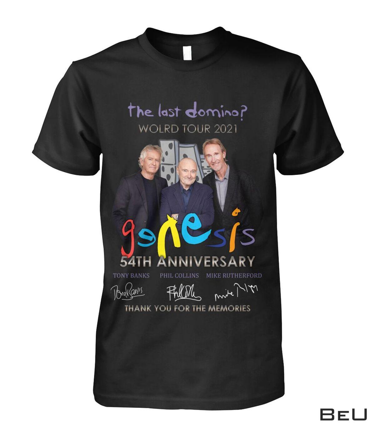 Best Gift Genesis The Last World Tour 2021 Shirt, hoodie, tank top