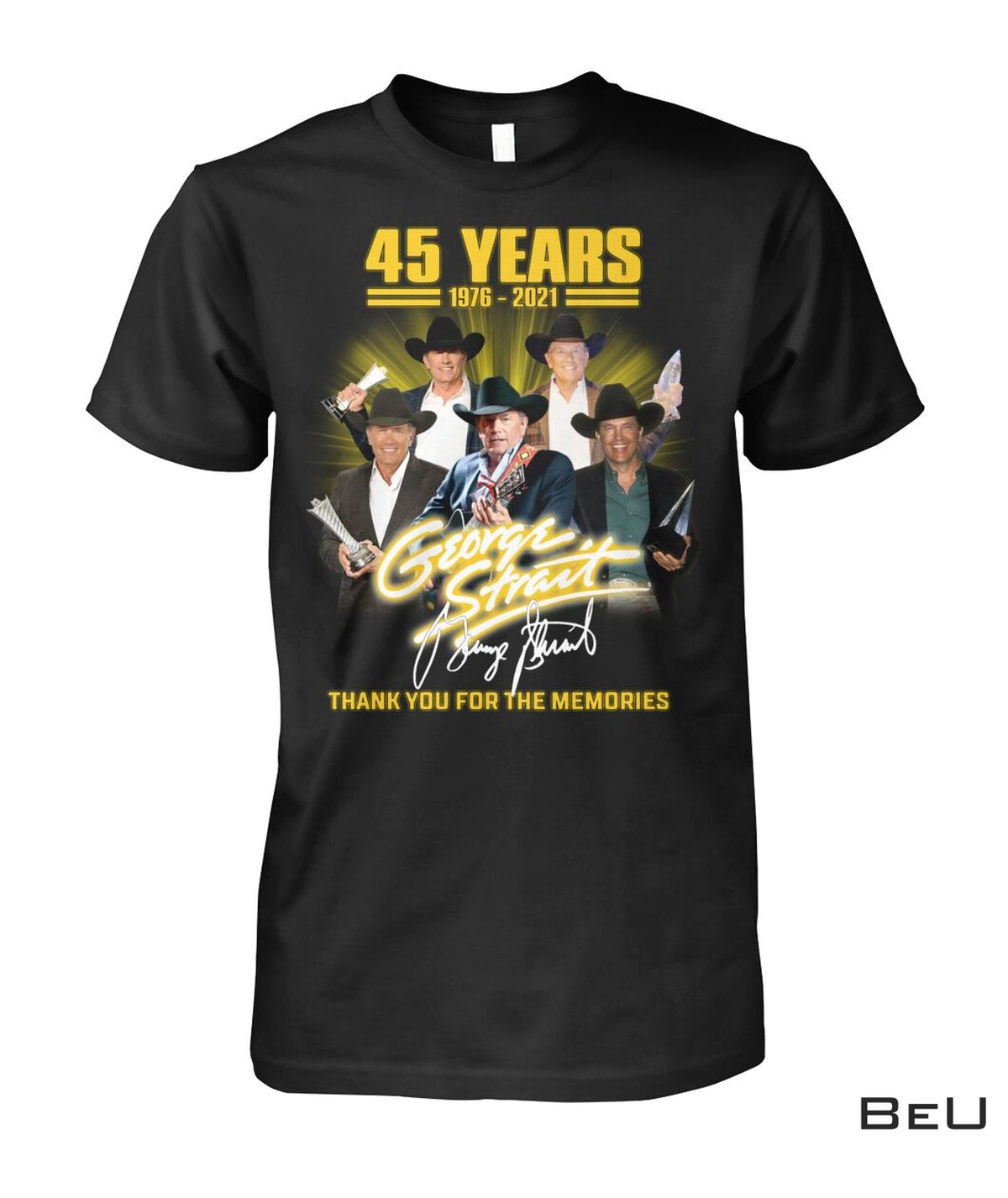 Us Store George Strait 45 Years Thank You Shirt, hoodie, tank top