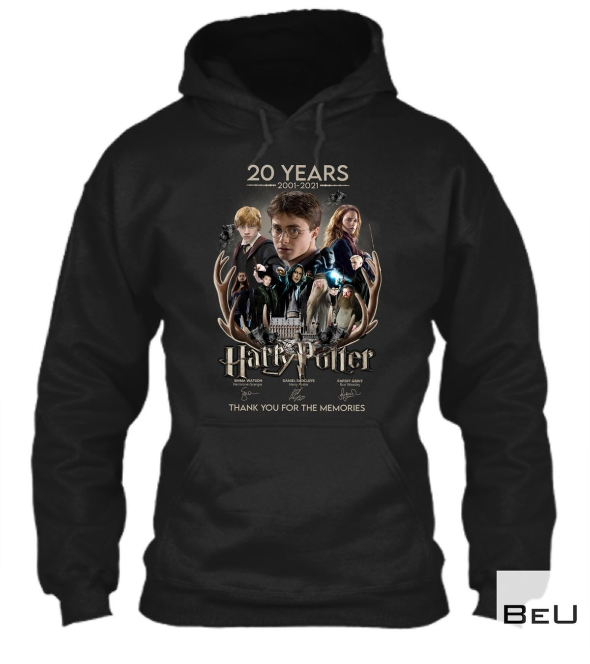 Funny Tee Harry Potter 20th-anniversary Shirt, hoodie, tank top