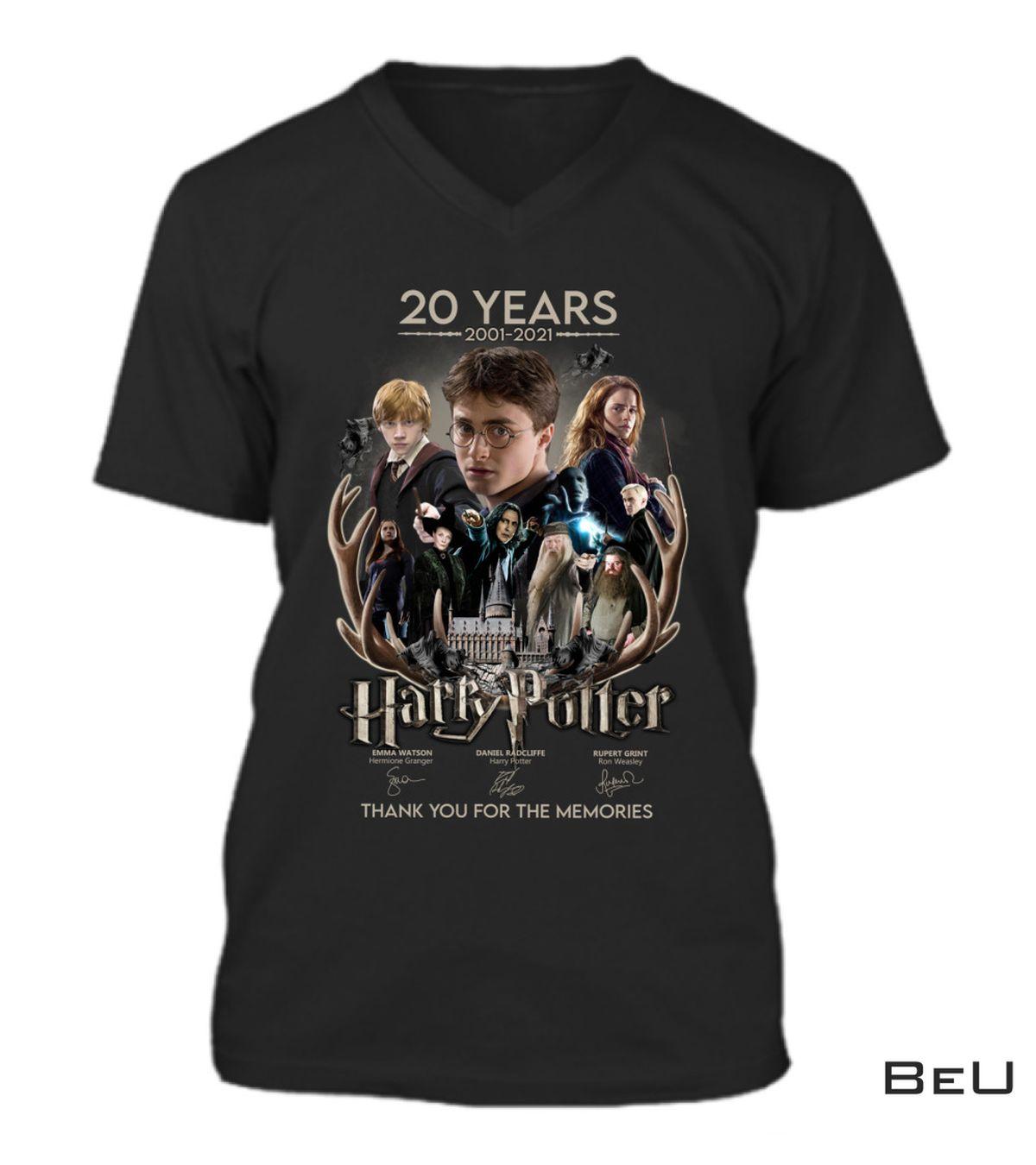 Fantastic Harry Potter 20th-anniversary Shirt, hoodie, tank top