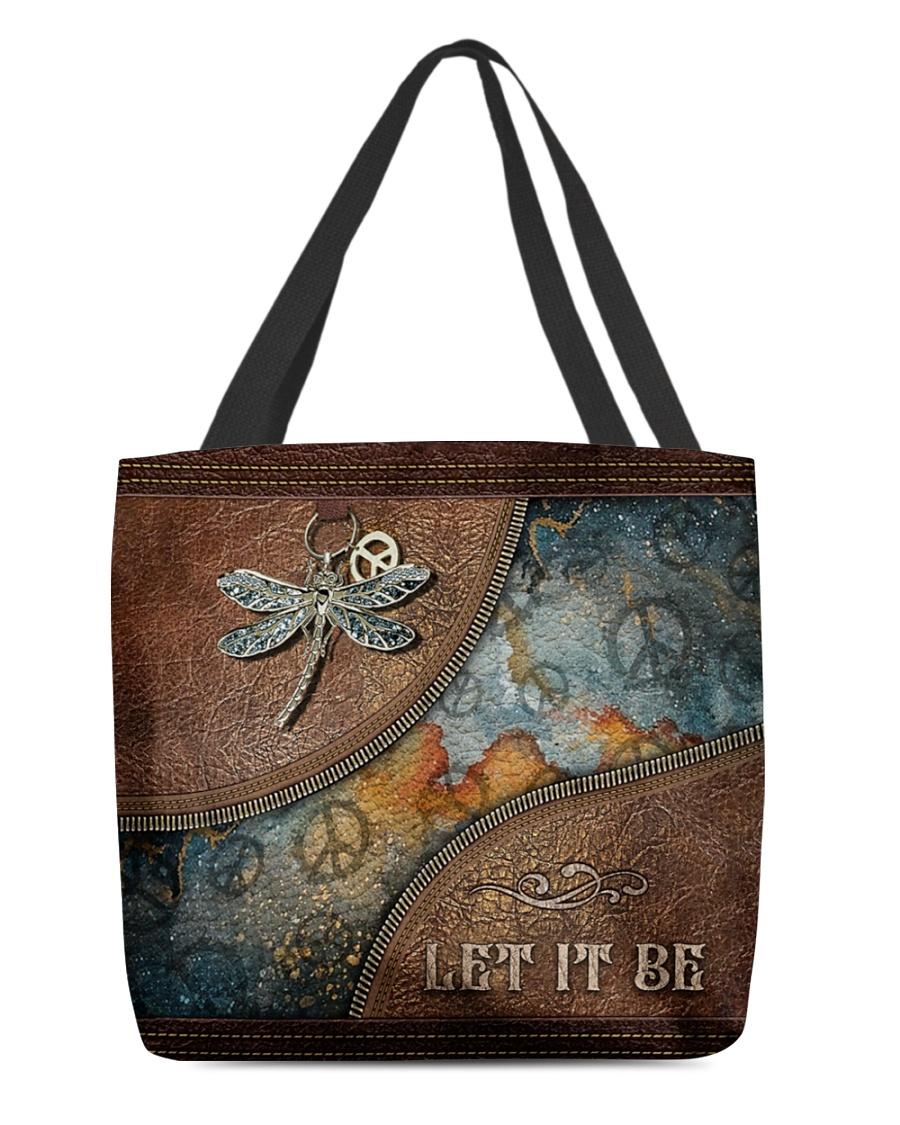 Hippie Let It Be Tote Bag