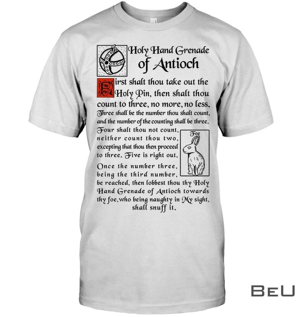Holy Hand Grenade Of Antioch Shirt
