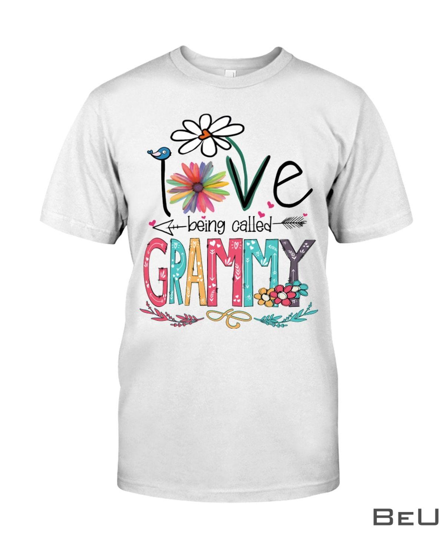 I Love Being Called Grammy Shirt