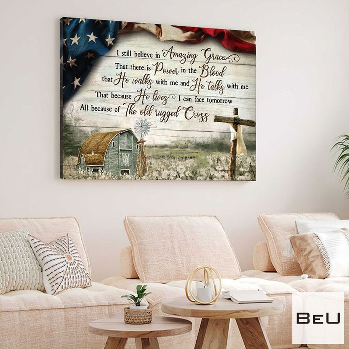 Fast Shipping I Still Believe In Amazing Grace Canvas