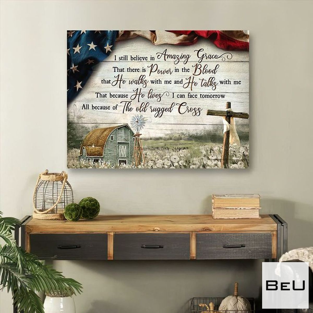 Absolutely Love I Still Believe In Amazing Grace Canvas