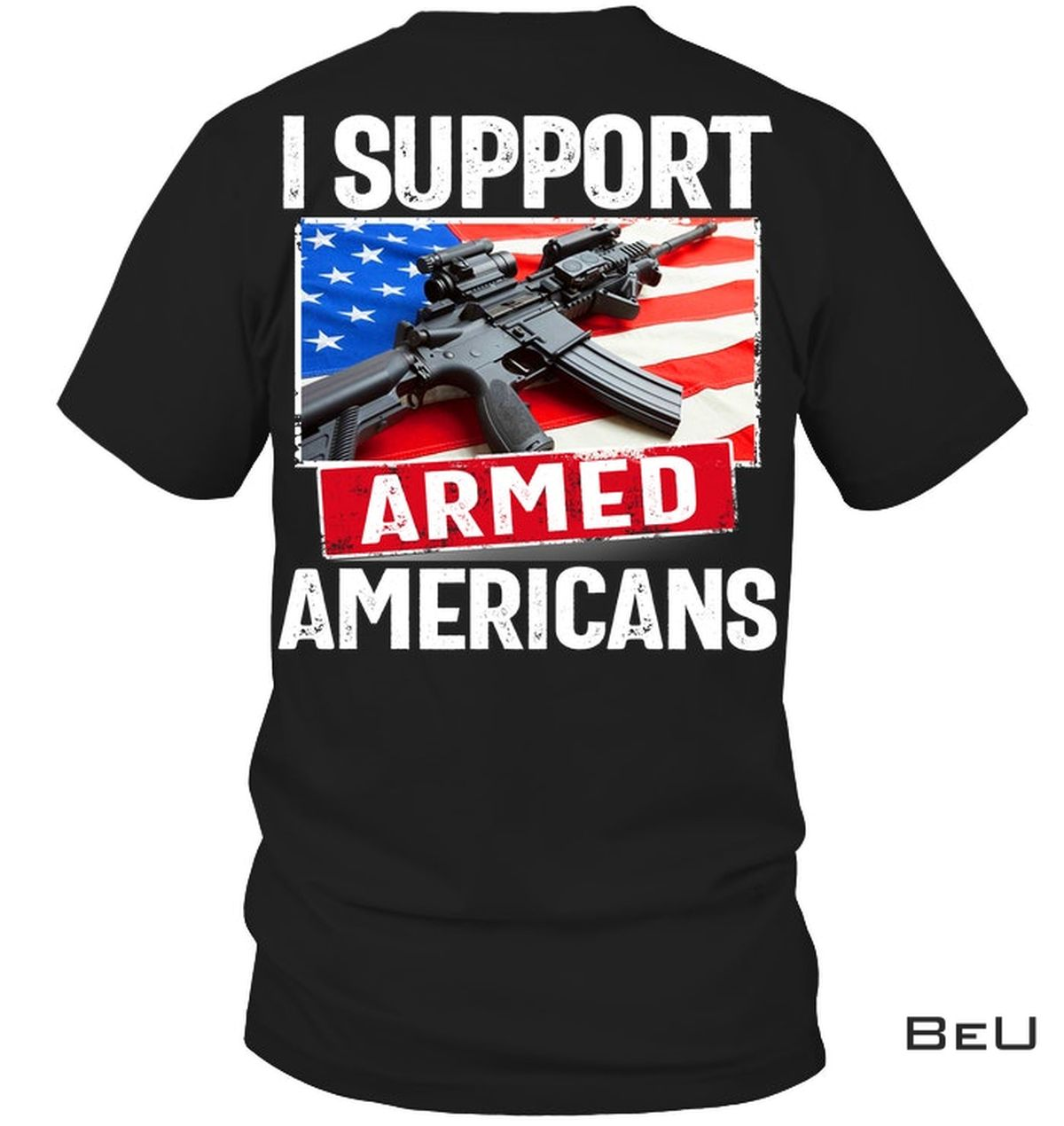 I Support Aimed Americans Shirt