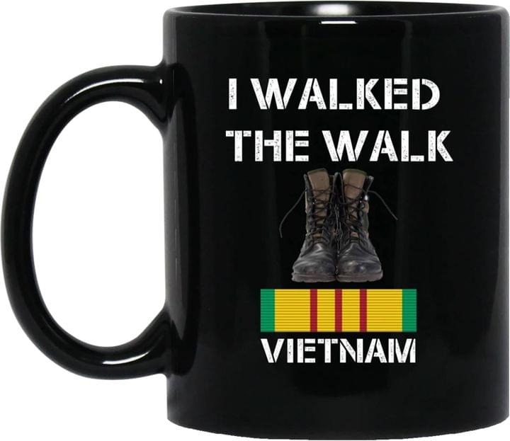 I Walked The Walk Vietnam Mug